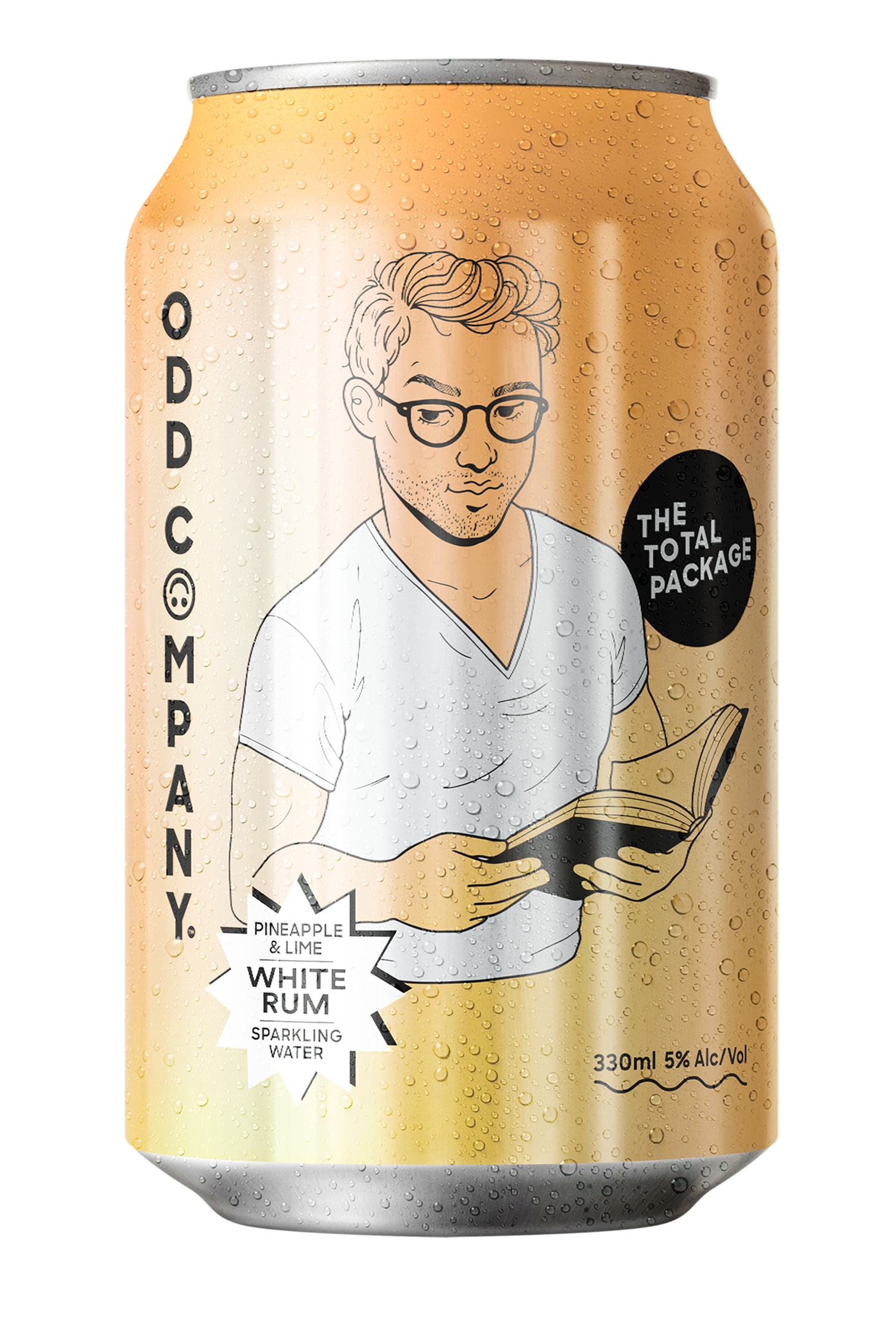 Can ODD COMP Total Package White Rum Pine Lime